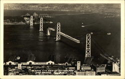 Bird's Eye View of S.F.-Oakland Bay Bridge