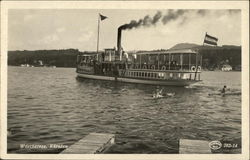 Steamer on Lake