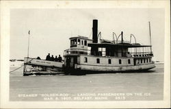 "Steamer ""Golden-Rod"""