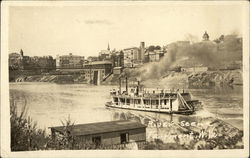 River Scene with Steamer