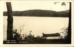 Lovers Landing, Canoe in Wait