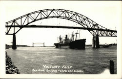Victory Ship Under Bourne Bridge