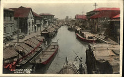 Boats in the Binondo Canal
