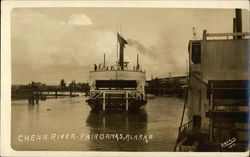 Ferry Arriving on the Chena River