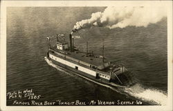 "Famous River Boat ""Skagit Bell"""