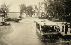 Steamers Entering Lake Sally