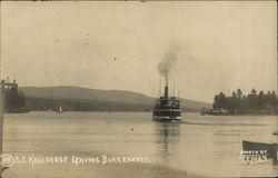 S.S. Kearsarge Leaving Burkehaven