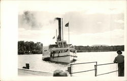 Steamer on Lake Winnepesaukee