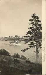 Steamer On the Water, Bailey's Island