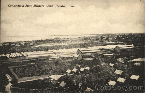 Connecticut State Military Camp Niantic