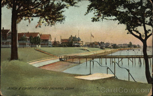 Beaches and Cottages Pine Orchard Connecticut