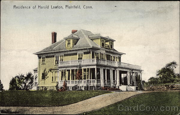 Residence of Harold Lawton Plainfield Connecticut