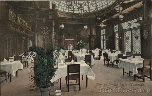 Flemish Dining Room (European), The Elton Waterbury Connecticut