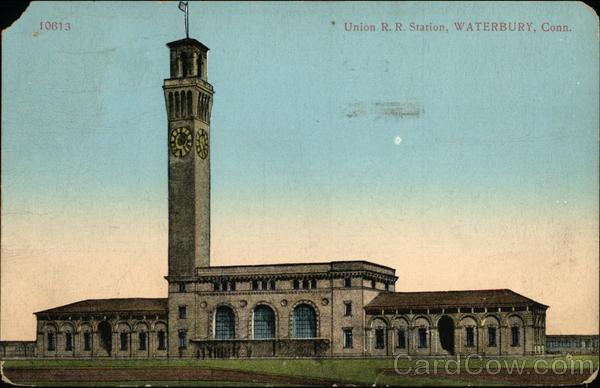 Union R. R. Station Waterbury Connecticut
