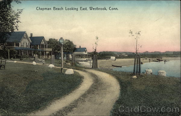 Chapman Beach Looking East Westbrook Connecticut