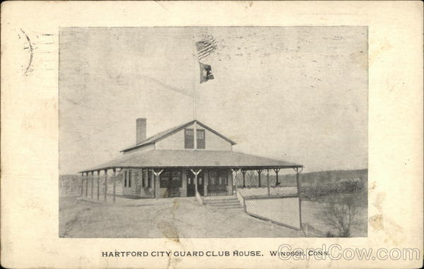 Hartford City Guard Club House Windsor Connecticut