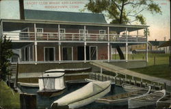 Yacht Club House and Landing