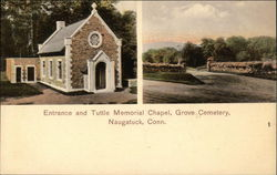 Grove Cemetery - Entrance and Tuttle Memorial Chapel