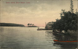Water View of Green Island Postcard