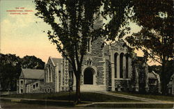 The New Congregational Church Postcard