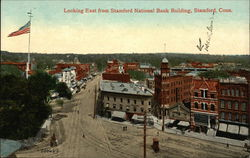 Looking East from Stamford National Bank Building