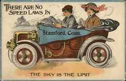 There are no Speed Laws in Stamford - the Sky is the Limit