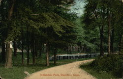 View of Hillandale Park Postcard