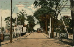 Hyde's Crossing, Elm St. Looking East