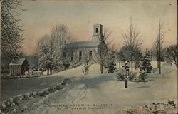 Congregational Church in the Snow