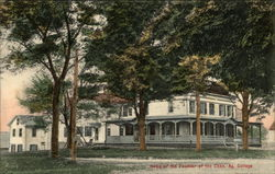 Home of Founder of Connecticut Agricultural College