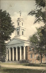 View of Baptist Church Postcard