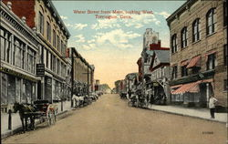Water Street from Main, looking West