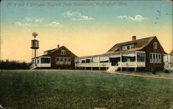 No. 3 and 4 Cottages, Gaylord Farm Sanatorium