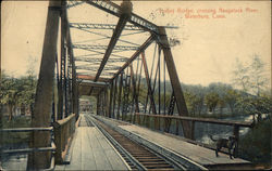 Trolley Bridge, Crossing Naugatuck River