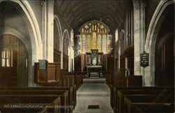 Interior of Christ Church Episcopal
