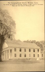 The Congregational Church Postcard