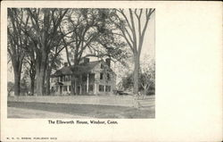 The Ellsworth House Postcard