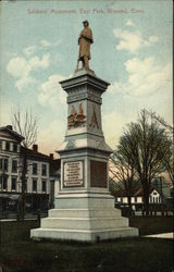 Soldiers' Monument, East Park