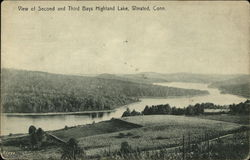 View of Second and Third Bays, Highland Lake
