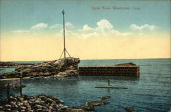 View of Signal Rock Postcard