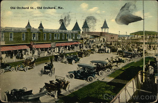 Old Orchard St. Old Orchard Beach Maine
