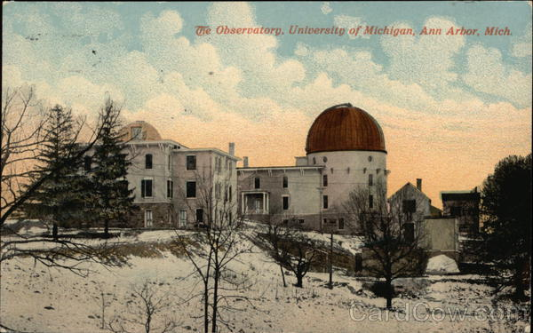 University of Michigan - Observatory Ann Arbor