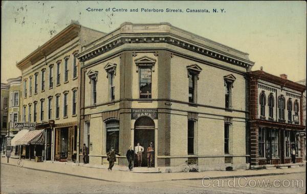 Corner of Centre and Peterboro Streets Canastota New York
