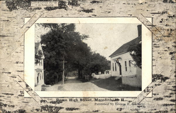 High Street Meredith New Hampshire