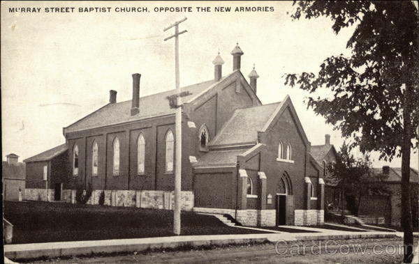 Murray Street Baptist Church, Opposite the New Armories Peterborough Canada
