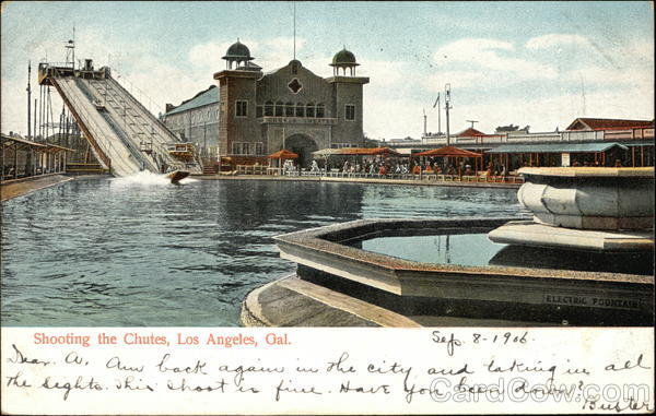 Shooting the Chutes Los Angeles California