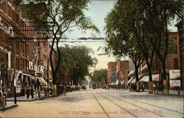 Elm Street, looking South Manchester New Hampshire