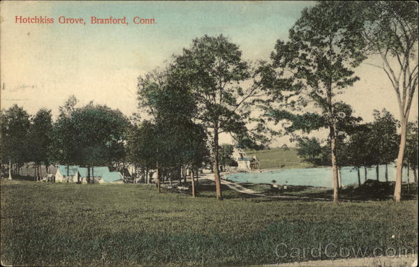 Scenic View of Hotchkiss Grove Branford Connecticut