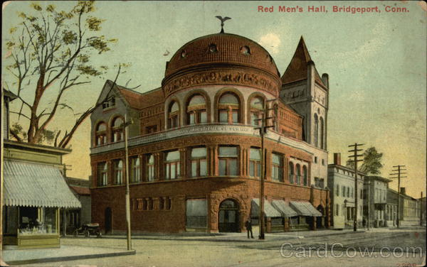Red Men's Hall Bridgeport Connecticut