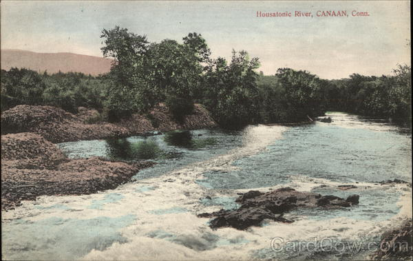 Scenic View of Housatonic River Canaan Connecticut